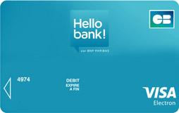 cartes bancaires votre carte de paiement en ligne hello bank. Black Bedroom Furniture Sets. Home Design Ideas