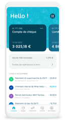 Payer avec l'application Hello bank!
