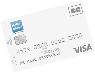 Carte Visa Hello One